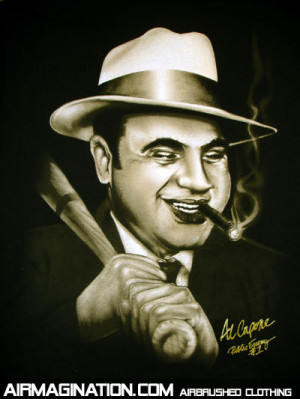 """Mr. Capone was quoted as saying, """" The income tax law is a lot of ..."""