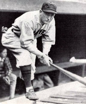 Rogers Hornsby with the Boston Braves in 1928