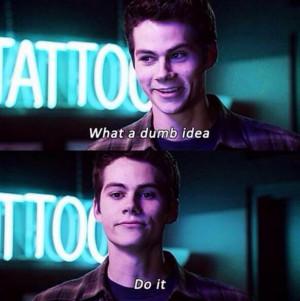Teen Wolf, Stiles (Dylan O'Brien)
