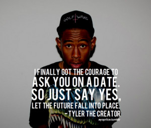 tyler the creator quotes about love