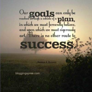 Motivational Goal Setting Quotes