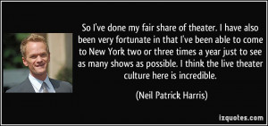 More Neil Patrick Harris Quotes