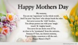 Verwandte Suchanfragen zu Poems for my mom that will make her cry