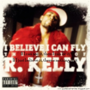 kelly i believe i can fly