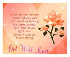 Religious Get Well Wishes Get well soon messages