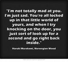 murakami norwegian wood more ex best friends haruki murakami quotes ...