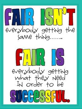 """Being """"Fair"""" To Students"""