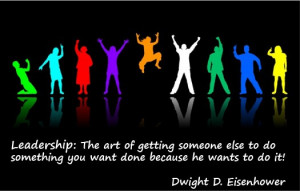 Leadership quote dwight d eisenhower