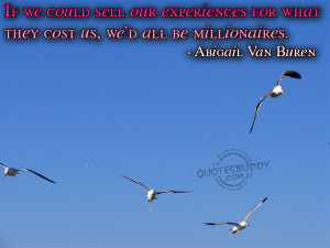 Experience Quotes Graphics, Pictures
