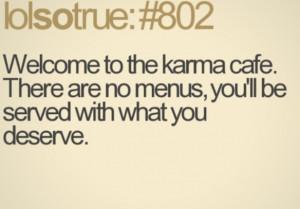 Karma | Quotes and sayings