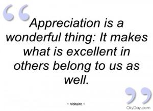 Appreciation Quotes