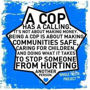 Thank you to all the police officers and firemen for your service
