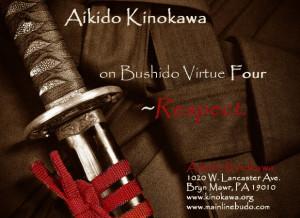Aikido Kinokawa on Bushido Virtue Four ~Respect.