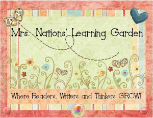 Kindergarten Classroom Garden Theme