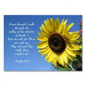 Psalm 23 - Inspirational Quotes - Wallet Card Large Business Cards ...
