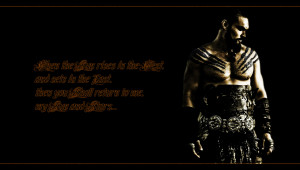 Download 'game of thrones drogo quote high resolution wallpaper' HD ...
