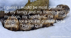 Haylie Duff Quotes Pictures