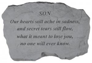 Dear Son Heaven Memorial Poem