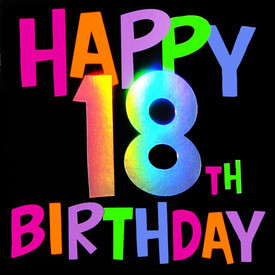 18th birthday category birthday description inside have a great 18th ...
