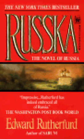 "Start by marking ""Russka: The Novel of Russia"" as Want to Read:"