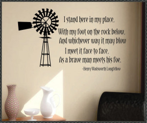 the windmill vinyl wall quote this is a vinyl wall quote that we have ...