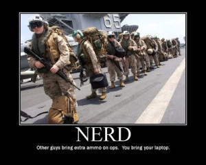 ... NERD originated as an acronym for Navy Enlisted Requiring Discipline