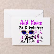 HAPPY 25TH BIRTHDAY Greeting Cards (Pk of 20) for