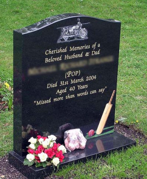 Headstone Quotes And Sayings