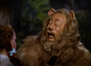 Cowardly lion – Wizard of Oz