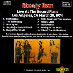 Steely Dan Live The Record