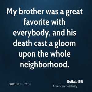 Quotes About Death Of A Brother