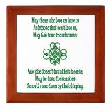 Irish Sayings Keepsake Boxes | Irish Sayings Memory Box - CafePress