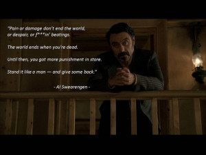 Al Swearengen - Deadwood TV Series