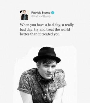 Patrick Stump quote