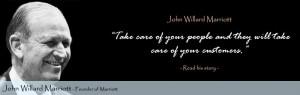 Willard Marriott Quotes J. Willar