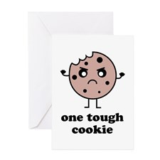One Tough Cookie Greeting Card for