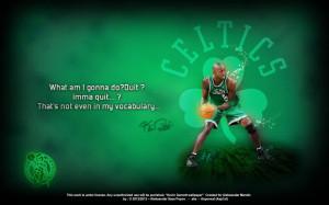 Kevin Garnett Wallpaper – Never Quit, I Will be Better!