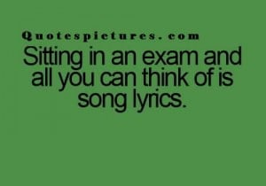 New Best funny Quotes for fb status - Sitting in an exam and all you ...