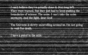 Creepy Fallout Wallpaper 1920x1200 Creepy, Fallout, Quotes, Static