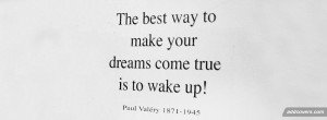 Wake Up Now Quotes Wake up {advice quotes