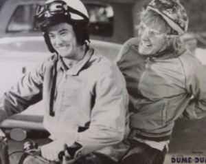 Dumb and Dumber Movie Harry and Llo yd on Scooter Poster Print - 24x36 ...