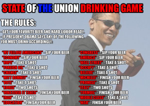 State of the Union Drinking Game!