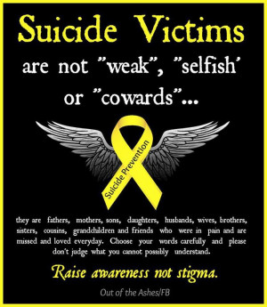 suicide prevention suicide awareness quotes suicide awareness quotes ...