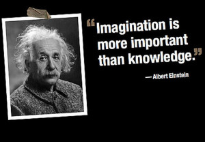 with quotes from one of the biggest brains of all, Albert Einstein ...