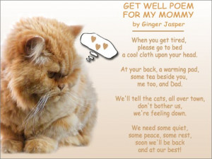 poem funny get well poems impression with get well soon a collage poem ...