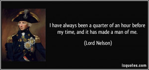 More Lord Nelson Quotes