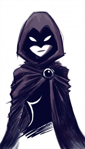 my work teen titans raven dc comics