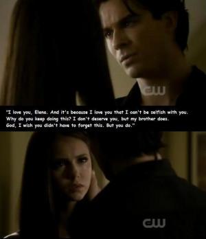Damon & Elena 02x08 Damon says