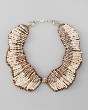 Panacea Crystal Beaded Necklace