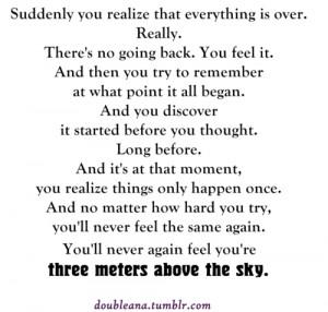 metros sobre el cielo 3msc # federico moccia # a tres metros sobre el ...